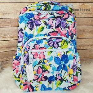 New Essential Large Backpack Floral Vera Bradley